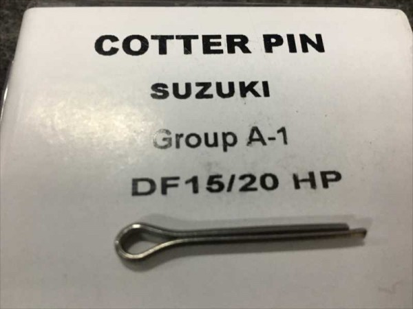 SUZUKI DT15-20HP for cotter pin set of 2