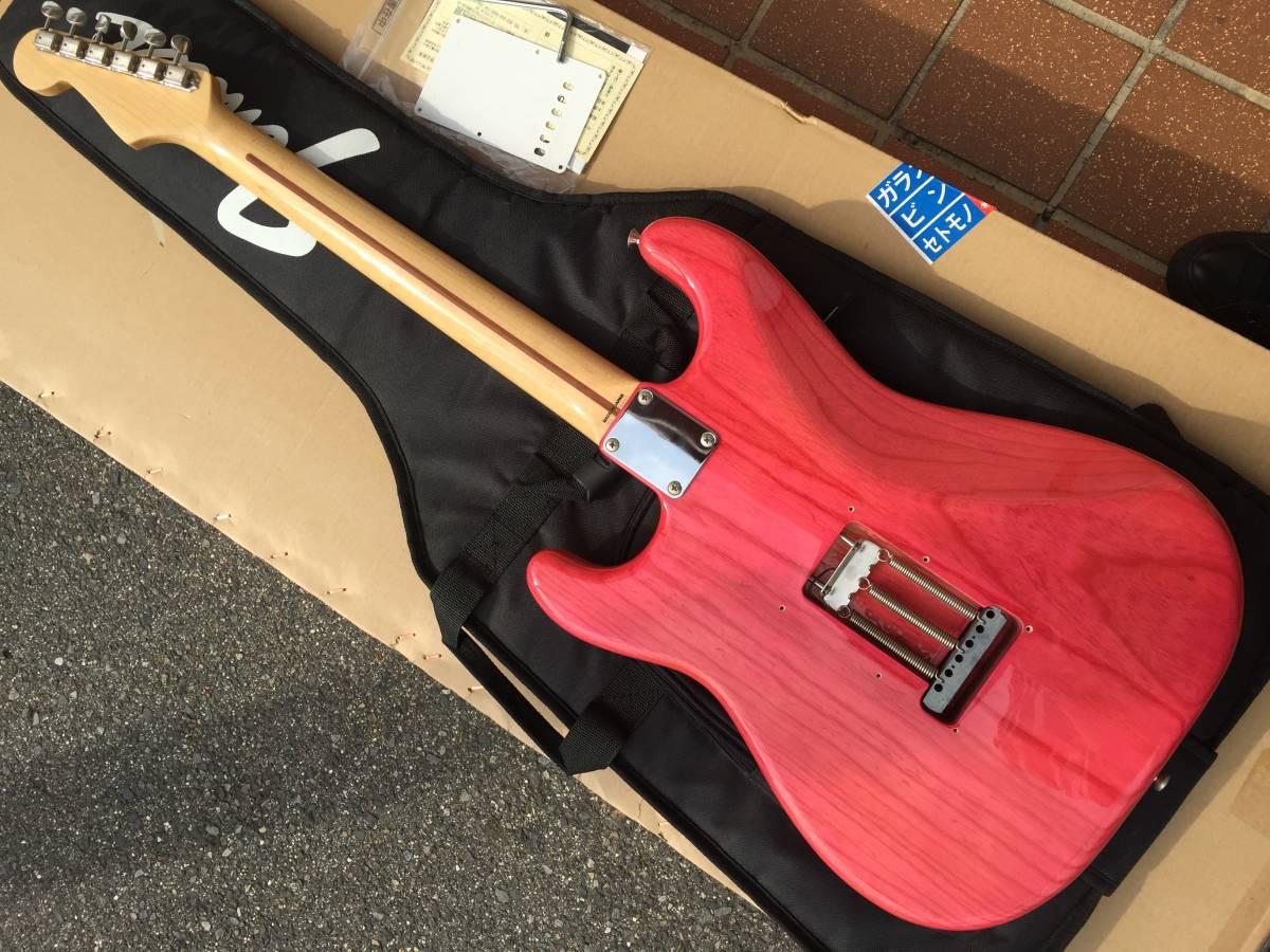 Fender Japan ST57/ASH TRP レアカラー トランスルーセントピンク made in Japan_画像3