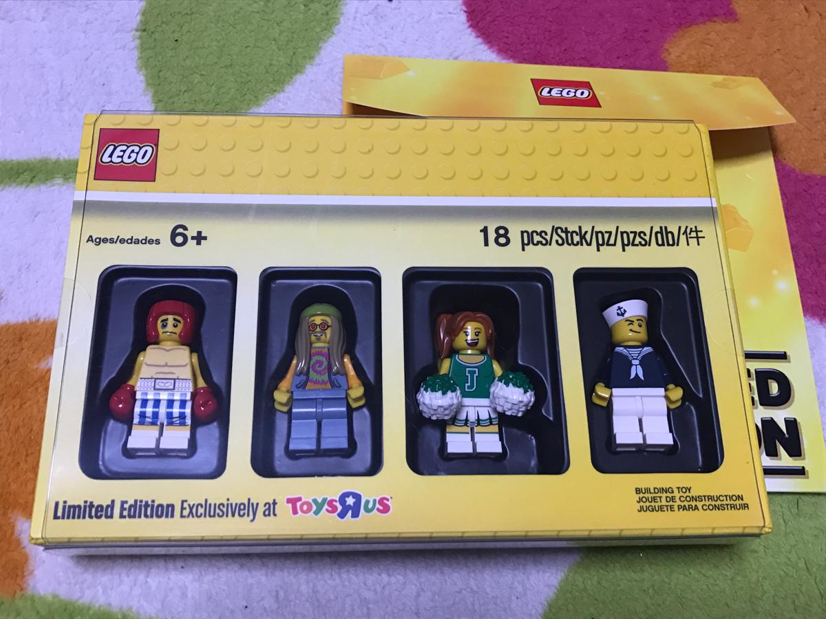 新品 配布終了 トイザらス限定 特典 クラッシクコレクション ミニフィグ LEGO レゴ ブロック フィギュア フィグ 非売品 セット_画像1