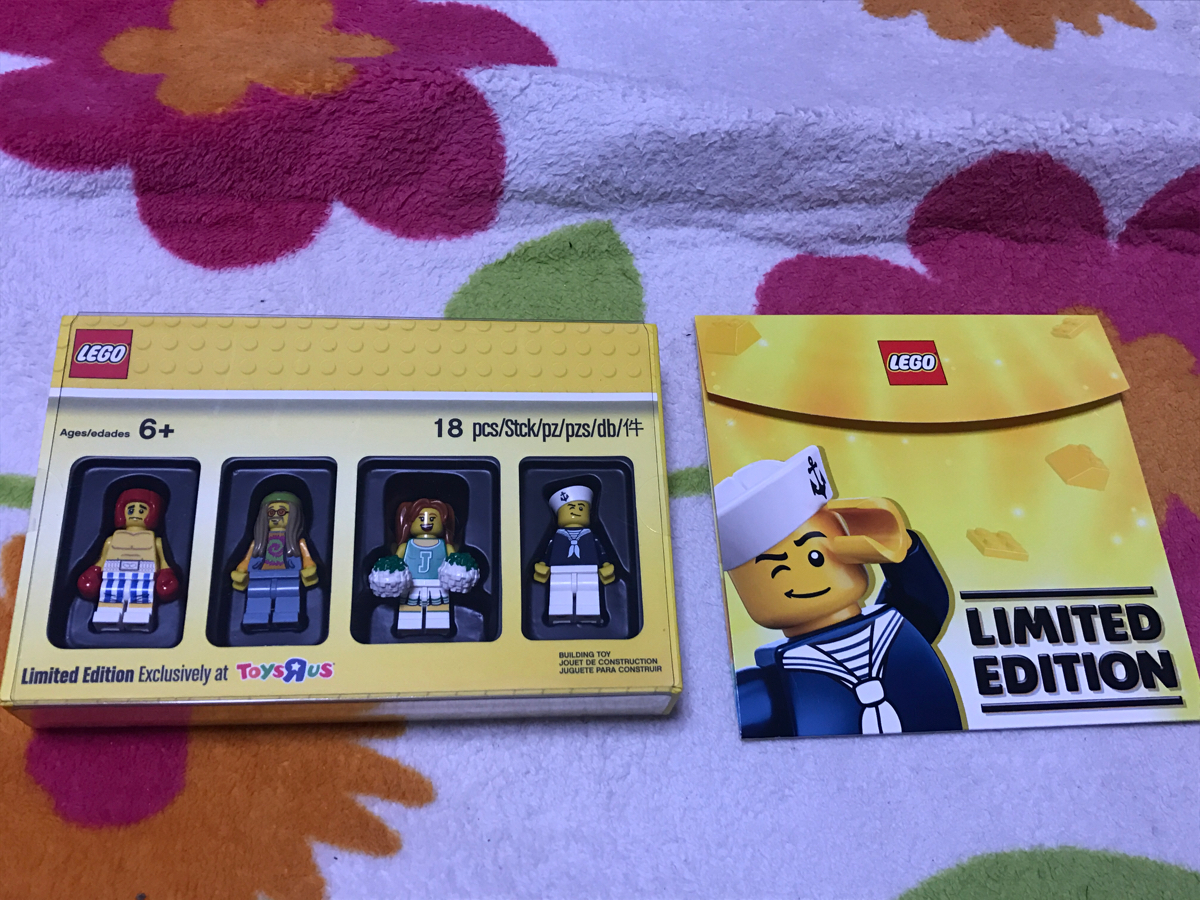 新品 配布終了 トイザらス限定 特典 クラッシクコレクション ミニフィグ LEGO レゴ ブロック フィギュア フィグ 非売品 セット_画像2