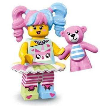 ラスト1点! 未組み立て 正規品 LEGO レゴ ミニフィグ エヌ・ポップガール ニンジャゴー ザムービー No.20 N-POP Girl ユニキャット柄_画像1