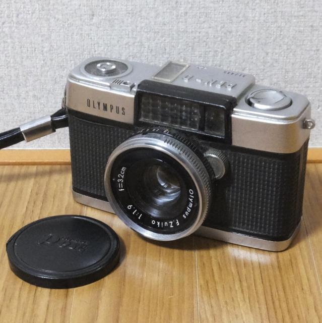 オリンパス フィルムカメラ PEN-D 実写未確認 メーター可動