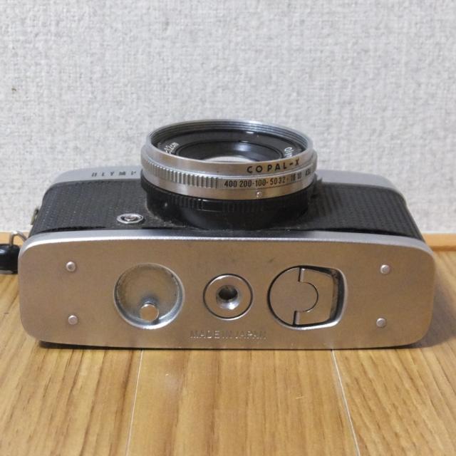 オリンパス フィルムカメラ PEN-D 実写未確認 メーター可動_画像4