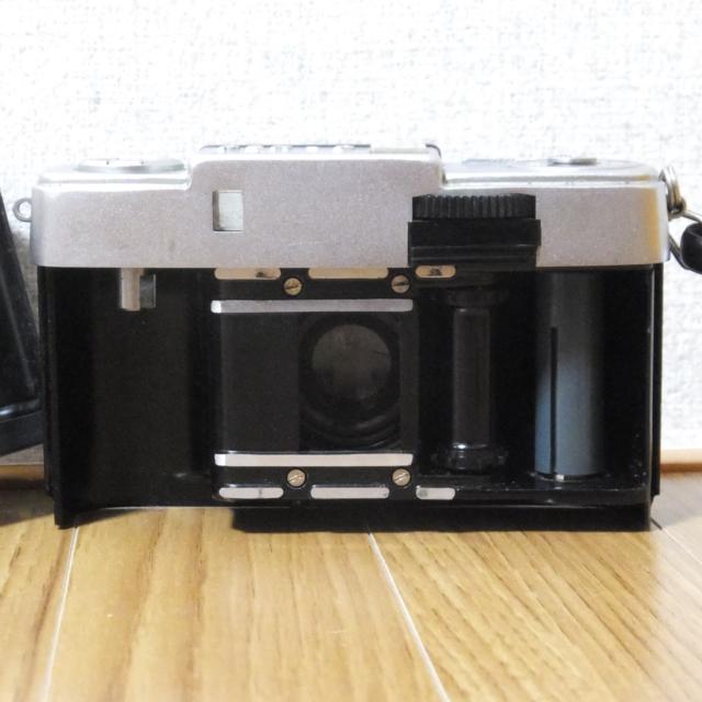 オリンパス フィルムカメラ PEN-D 実写未確認 メーター可動_画像5