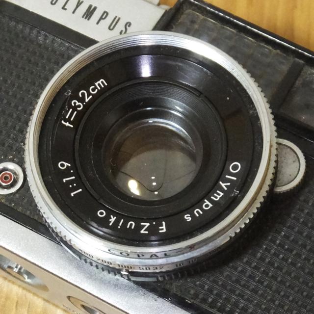 オリンパス フィルムカメラ PEN-D 実写未確認 メーター可動_画像2