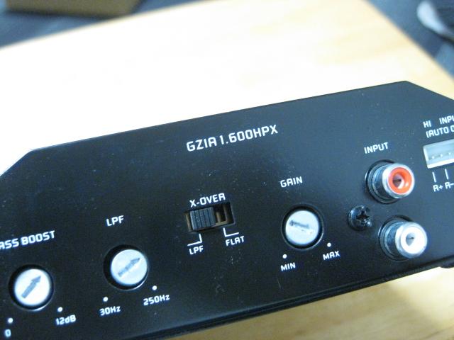 格安っ!グランドゼロ製サブウーハー用パワーアンプGZ-GZIA 1.600HPX☆GROUND ZERO♪_画像4