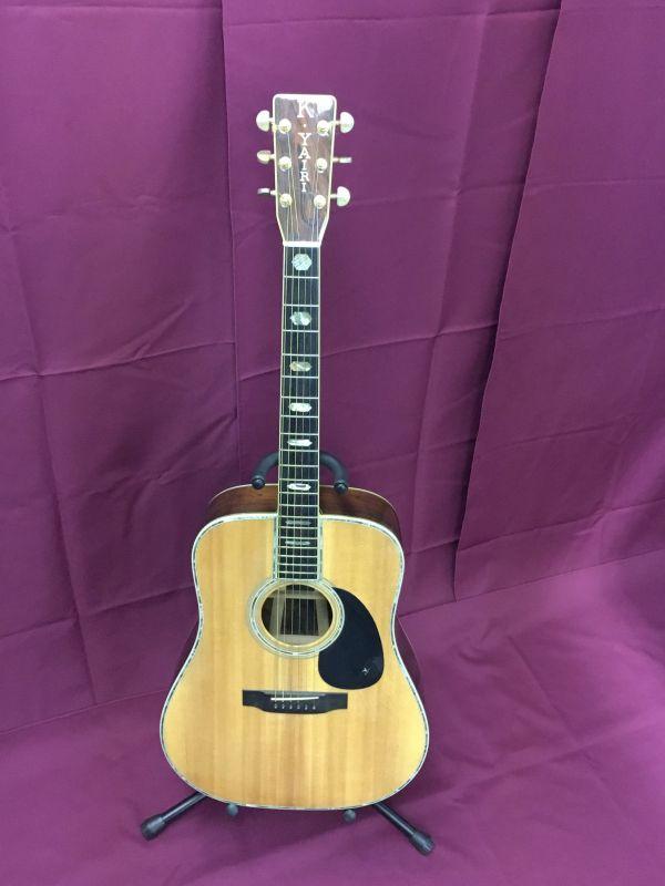 K.Yairi アコースティックギター YW-1000 1981年製 ハードケース付 現状品 EH02393-184h