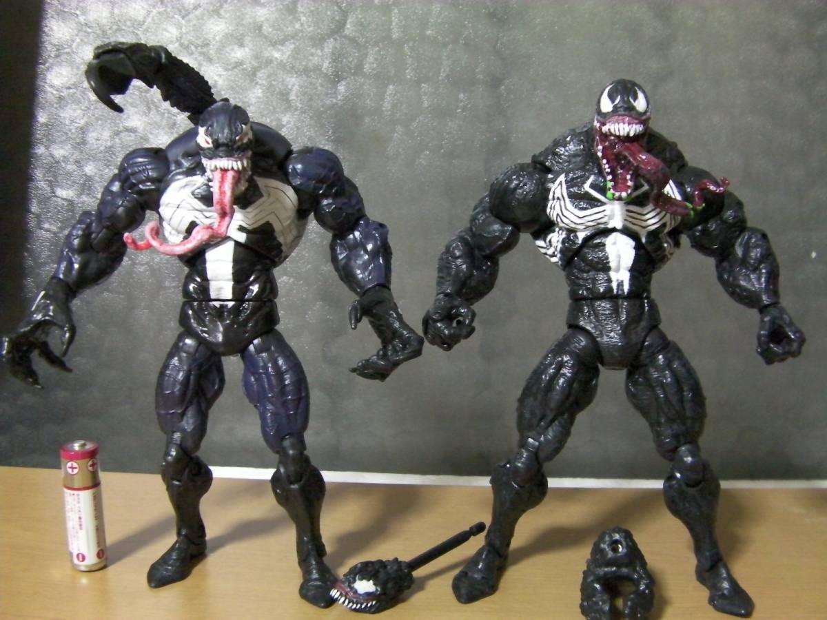 トイビズ ハズブロ スパイダーマンシリーズ ベノム 2種 検索 マーベルレジェンド ヴェノム グッズの画像