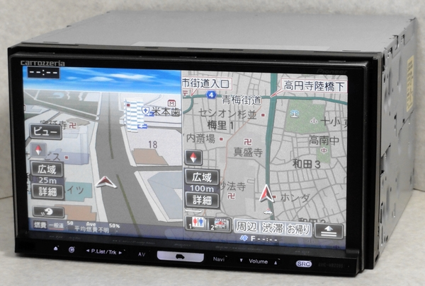 AVIC-HRZ099 最新2016年地図 フルセグ 動作保証 HDD楽ナビ カロッツェリア pioneer carrozzeria._画像2