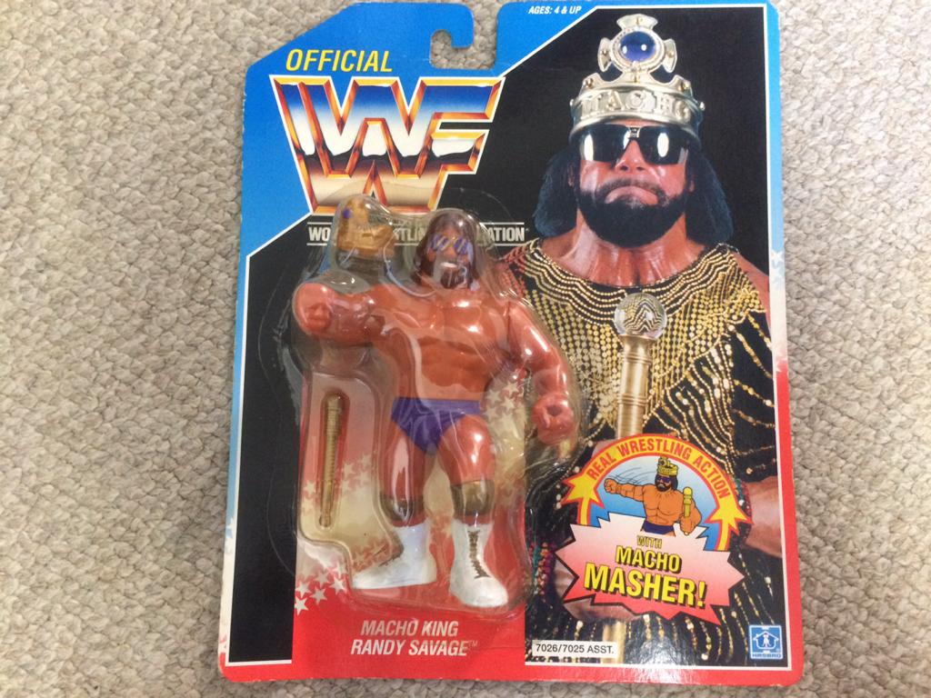 HASBRO社 WWE(WWF)スーパースターフィギュア ランディ サベージ グッズの画像