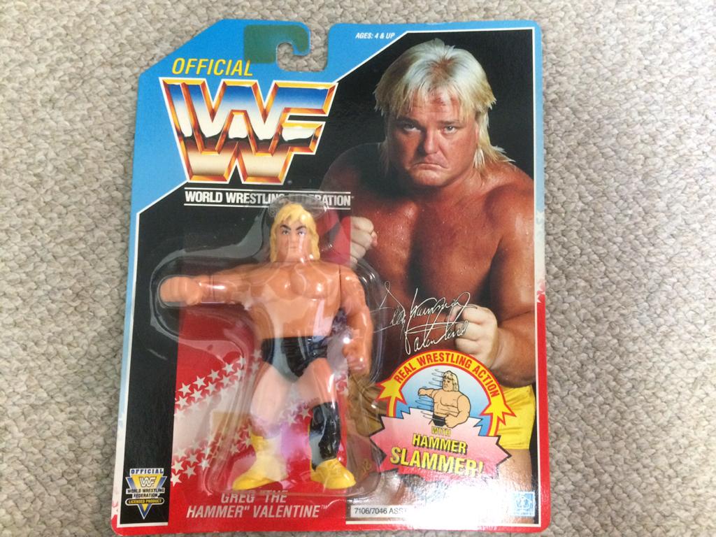 HASBRO社 WWE(WWF)スーパースターフィギュア グレッグ バレンタイン グッズの画像