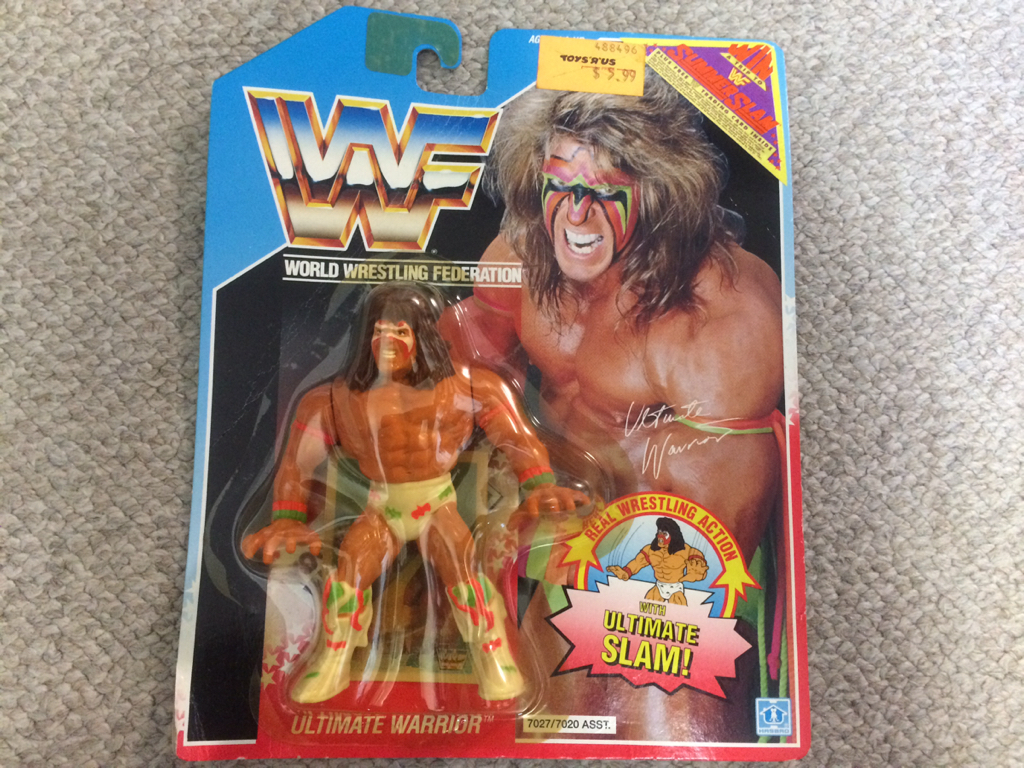 HASBRO社 WWE(WWF)スーパースターフィギュア アルティメット ウォリヤー② グッズの画像