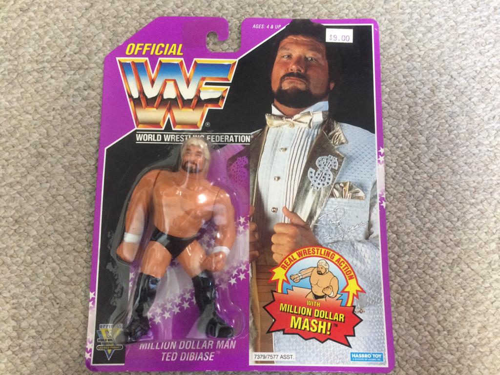 HASBRO社 WWE(WWF)スーパースターフィギュア デッド デビアス グッズの画像
