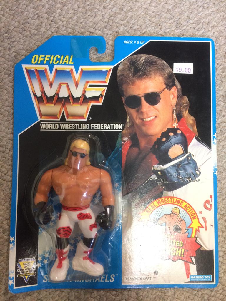 HASBRO社 WWE(WWF)スーパースターフィギュア ショーン マイケルズ グッズの画像