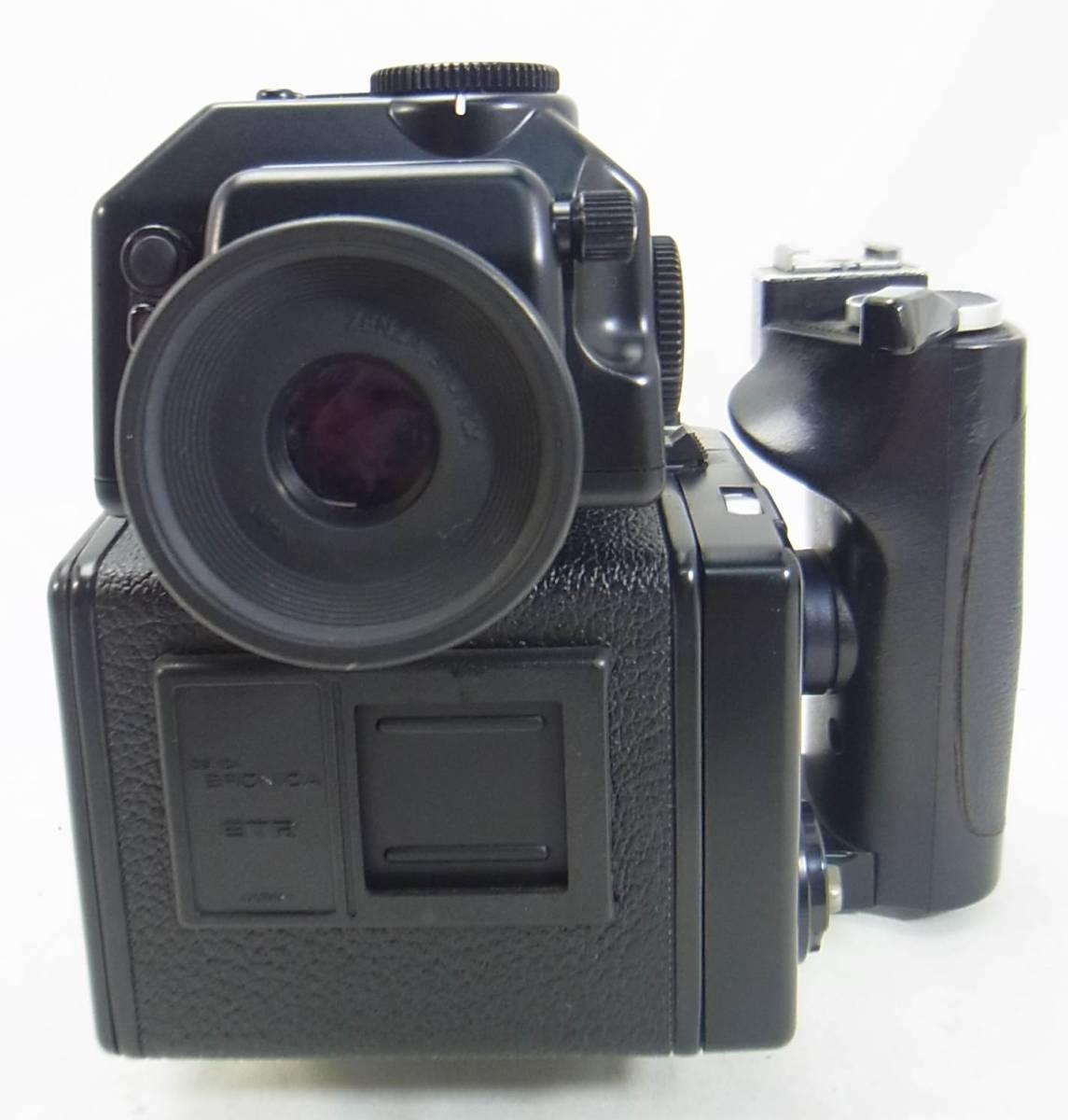【ZENZA】ゼンザ☆BRONICA/ブロニカ☆ETR Si☆ZENZANON MC 1:2.8 f=75mm_画像6