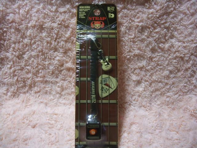 旧AKASAKA BLITZ 赤坂ブリッツ ギターストラップ 0216-TONE ギターミニチュアフィギュア