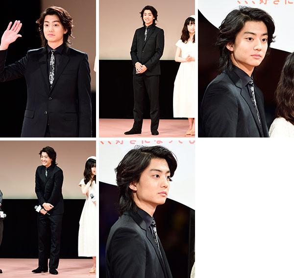 健太郎 先生! 、、、好きになってもいいですか? 完成披露試写会 生写真5枚