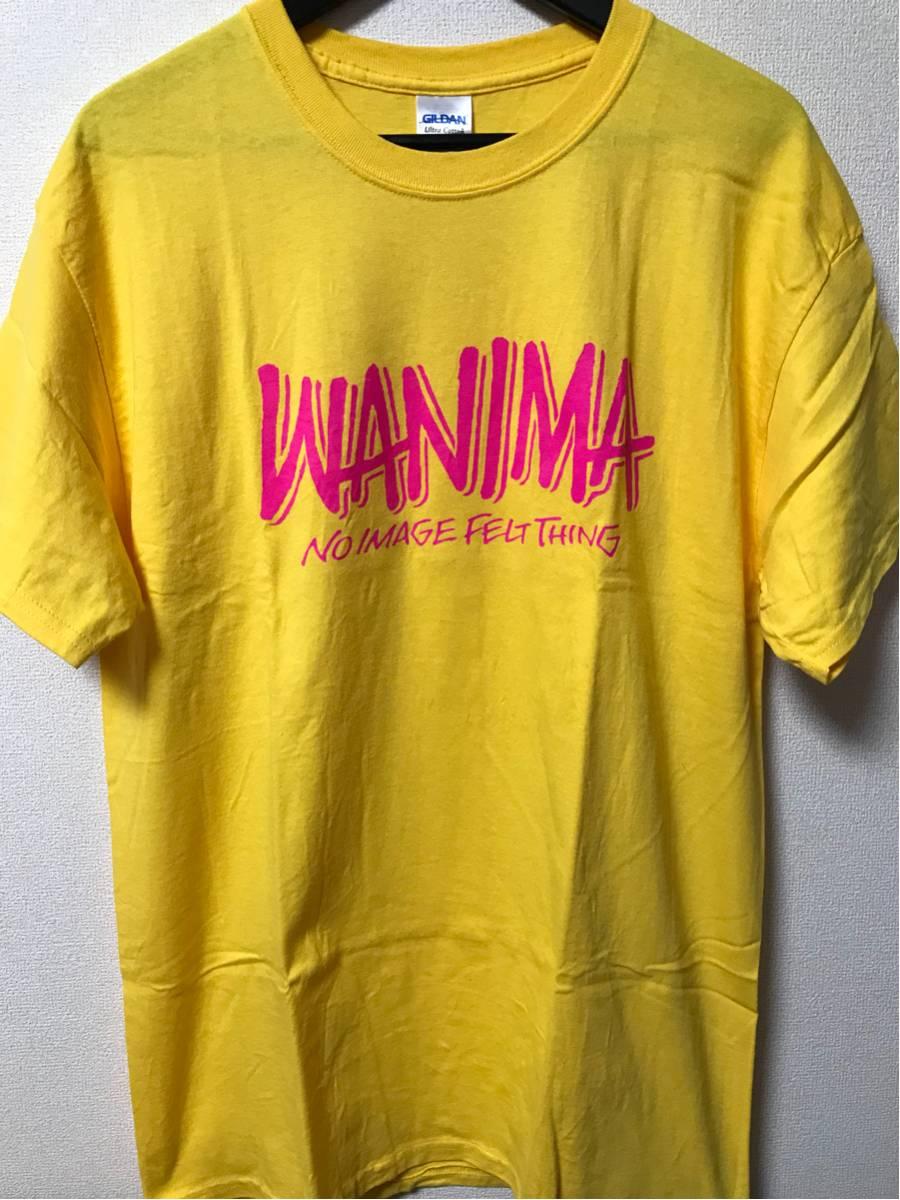 美品 ほぼ新品 短時間着用 WANIMA PIZZA OF DEATH ロゴ Tシャツ 2 ken yokoyama hi-standard