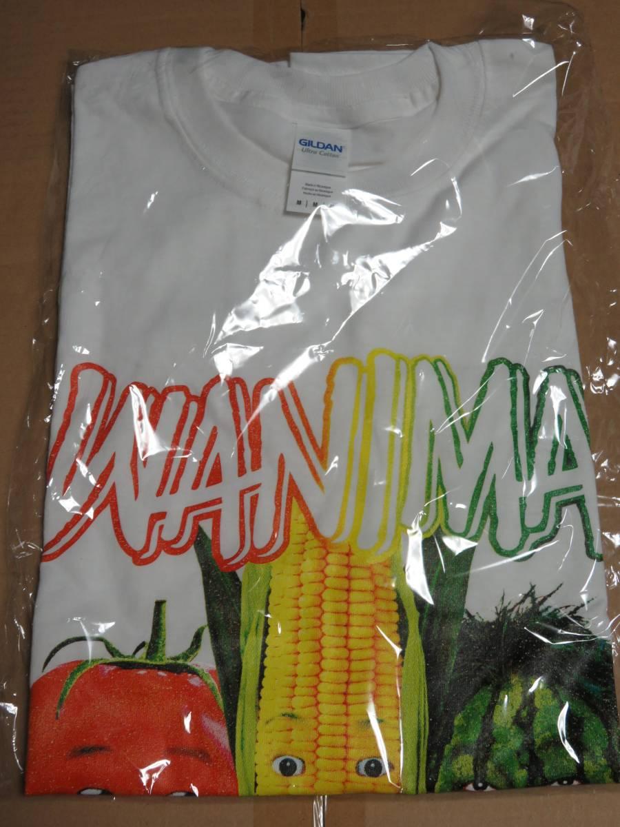 WANIMA 野菜 Tシャツ Mサイズ ホワイト ワニマ 新品未使用 ライブグッズの画像