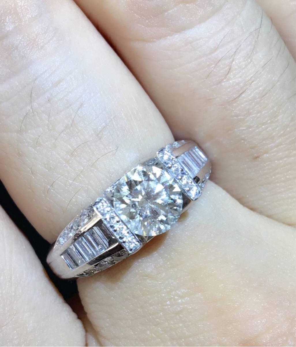 ダイヤモンド 綺麗 結婚 指輪 アクセサリー GIA鑑定書付き_画像2