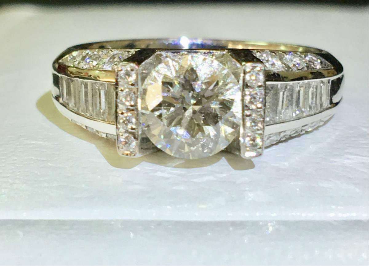 ダイヤモンド 綺麗 結婚 指輪 アクセサリー GIA鑑定書付き_画像3