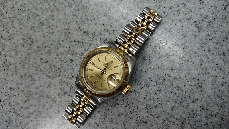 ロレックス ROLEX 69173 デイトジャスト コンビ K18YG イエローゴールド SS レディース