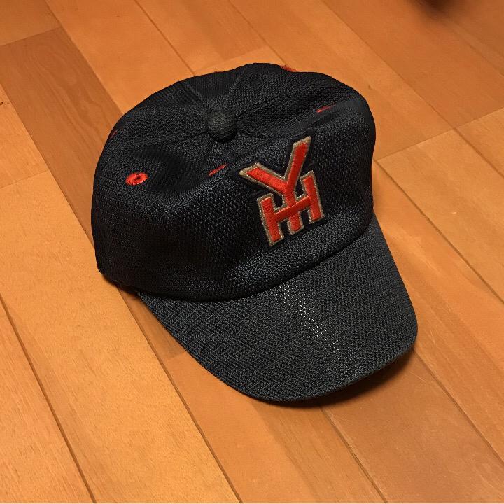 横浜高校 1998 全国制覇 帽子 富永美樹サイン入り 松坂大輔世代