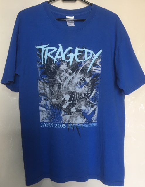 Tragedy - 2005 Japan Tour シャツ(Size L) from ashes rise selfish uranus spazz integrity infest los crudos charles bronson