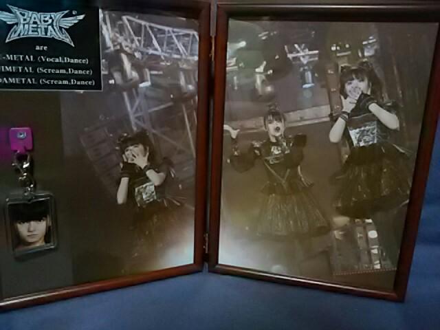 ♪BABYMETAL;プロモーション用販促額装非売品 ライブグッズの画像
