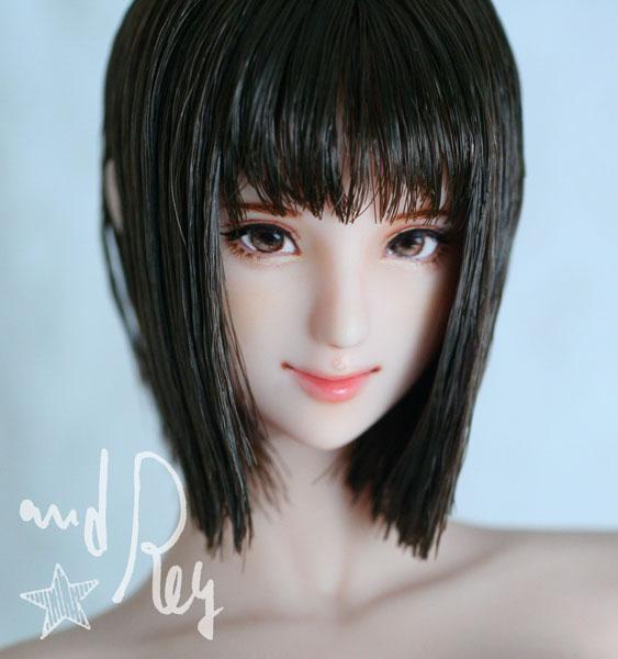 ★and Rey★1/6カスタムドールヘッド「真千子」_画像2