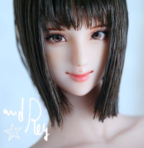 ★and Rey★1/6カスタムドールヘッド「真千子」
