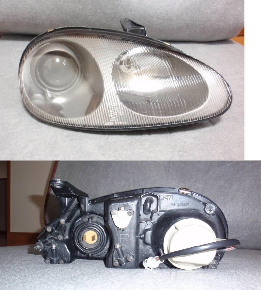 カプチーノ EA11R ヘッドライト 右