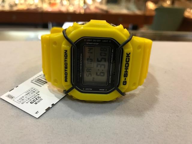 CASIO 展示品 新品 G-SHOCK DW-5600P-9JF  定価13500+税