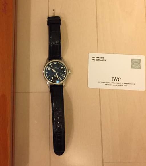 高級感 腕時計 IWC アイダブリューシー マーク16 iwc メンズ オートマティック ウォッチ 男性用 革ベルト_画像3