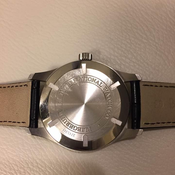 高級感 腕時計 IWC アイダブリューシー マーク16 iwc メンズ オートマティック ウォッチ 男性用 革ベルト_画像2