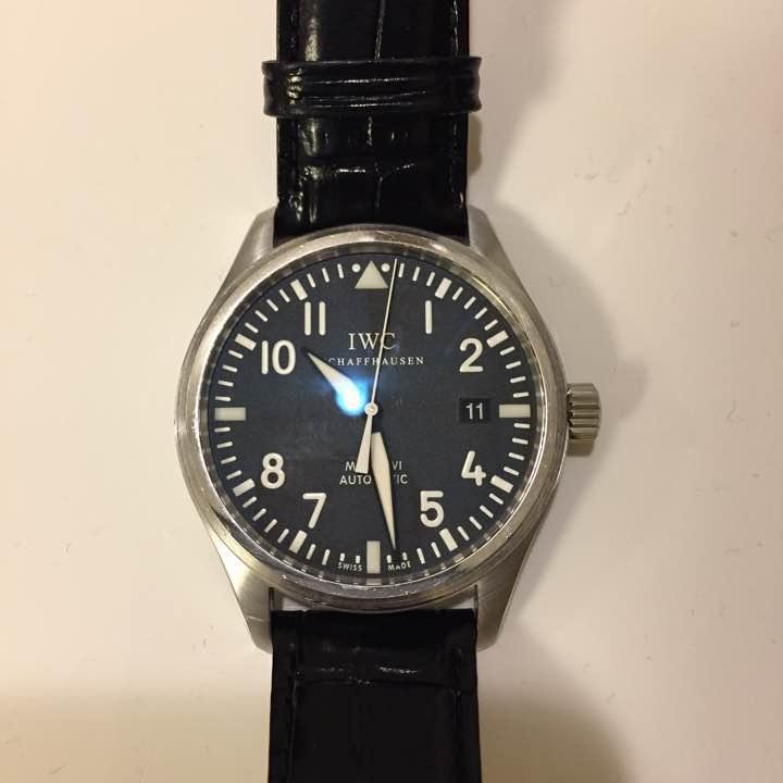 高級感 腕時計 IWC アイダブリューシー マーク16 iwc メンズ オートマティック ウォッチ 男性用 革ベルト