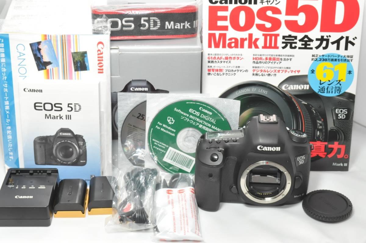 ★Canon キヤノン EOS 5D Mark Ⅲ ボディ ★美品★