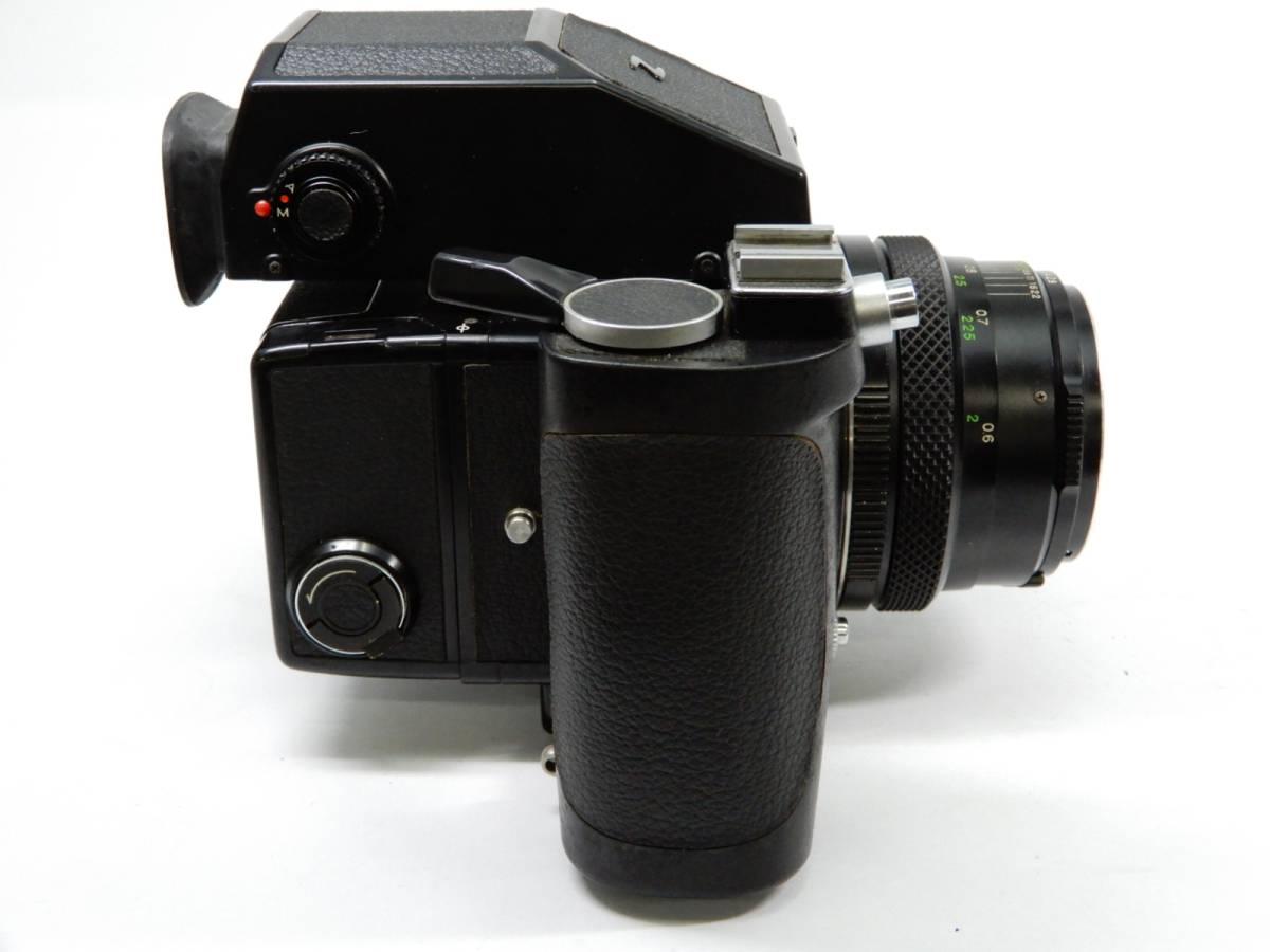 ZENZA BRONICA ブロニカ ETR-C MC 1:2.8 75mm レンズ MC 1:3.5 f=150mm 中判カメラ_画像2