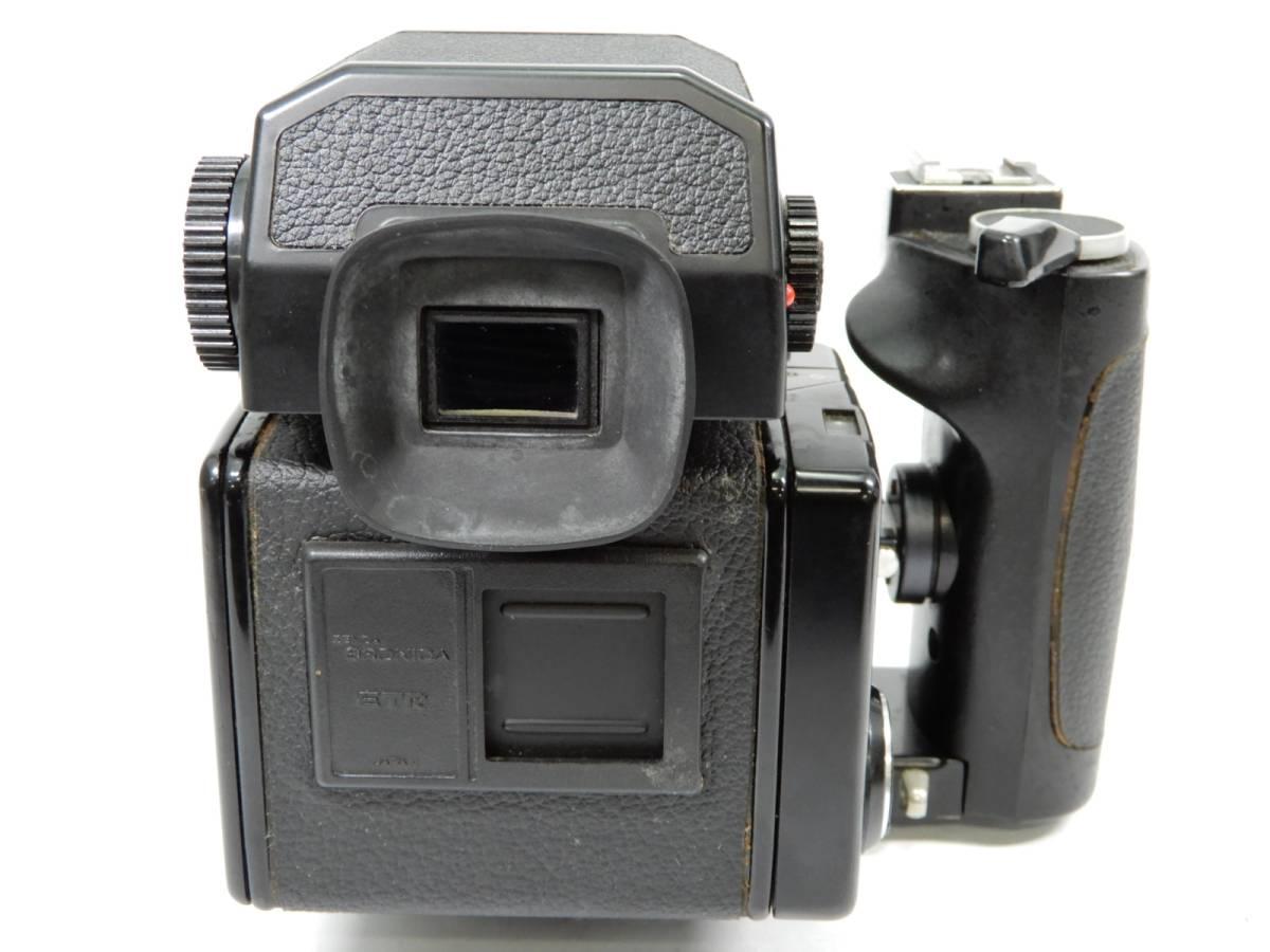 ZENZA BRONICA ブロニカ ETR-C MC 1:2.8 75mm レンズ MC 1:3.5 f=150mm 中判カメラ_画像4