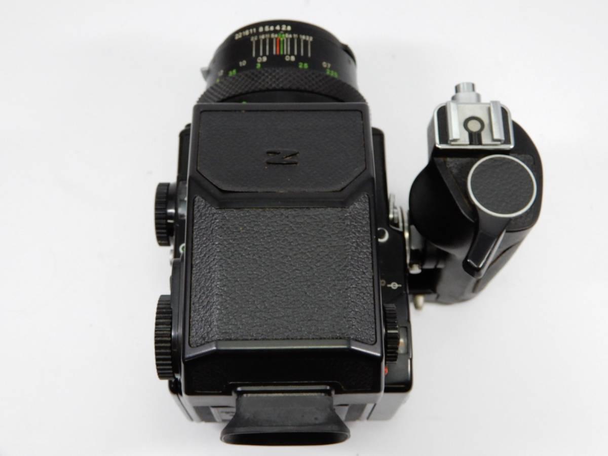 ZENZA BRONICA ブロニカ ETR-C MC 1:2.8 75mm レンズ MC 1:3.5 f=150mm 中判カメラ_画像5