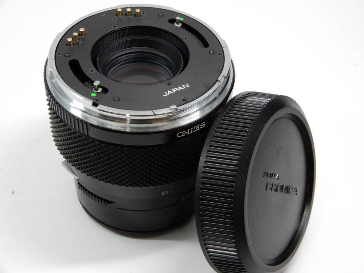 ZENZA BRONICA ブロニカ ETR-C MC 1:2.8 75mm レンズ MC 1:3.5 f=150mm 中判カメラ_画像9