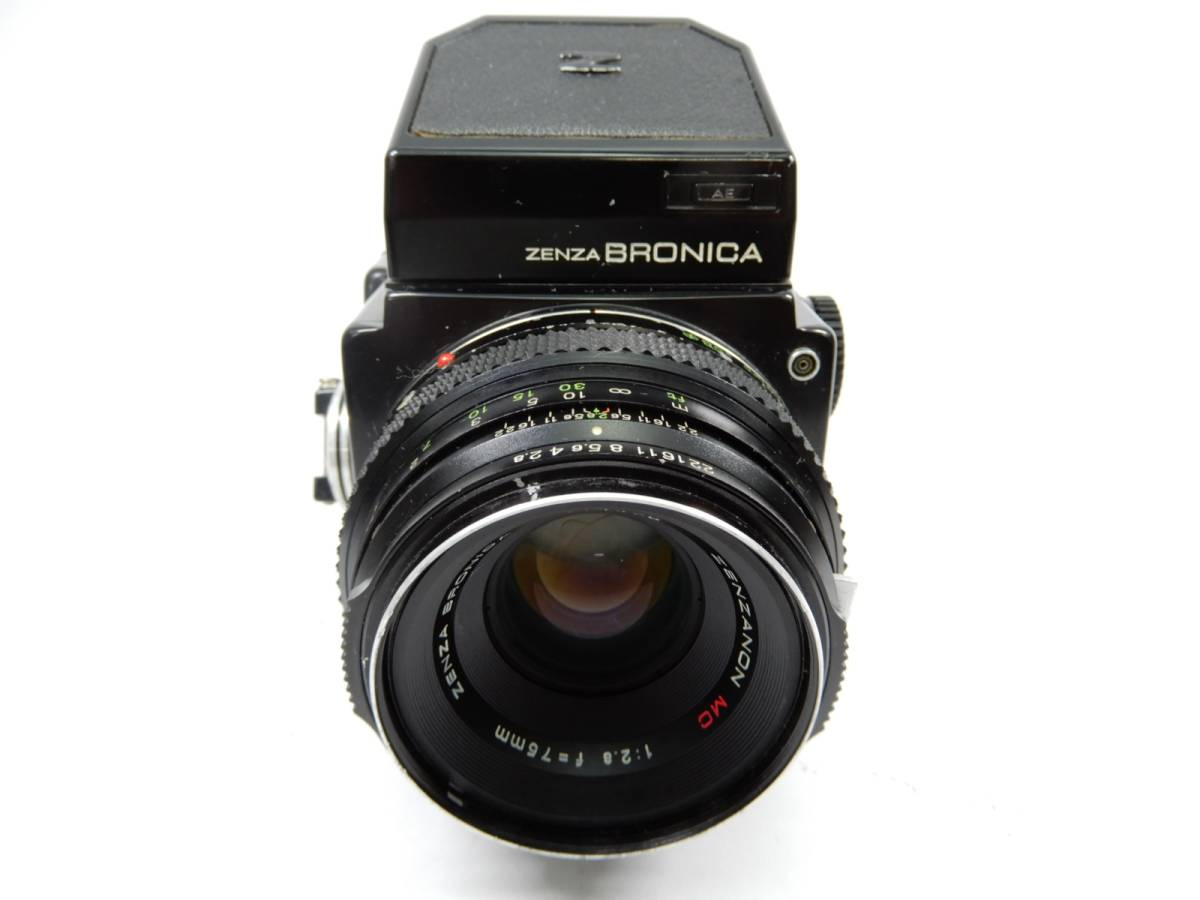 ZENZA BRONICA 中判カメラ ETR ゼンザ ブロニカ レンズ ZENZANON MC 1:2.8 f=75mm_画像3