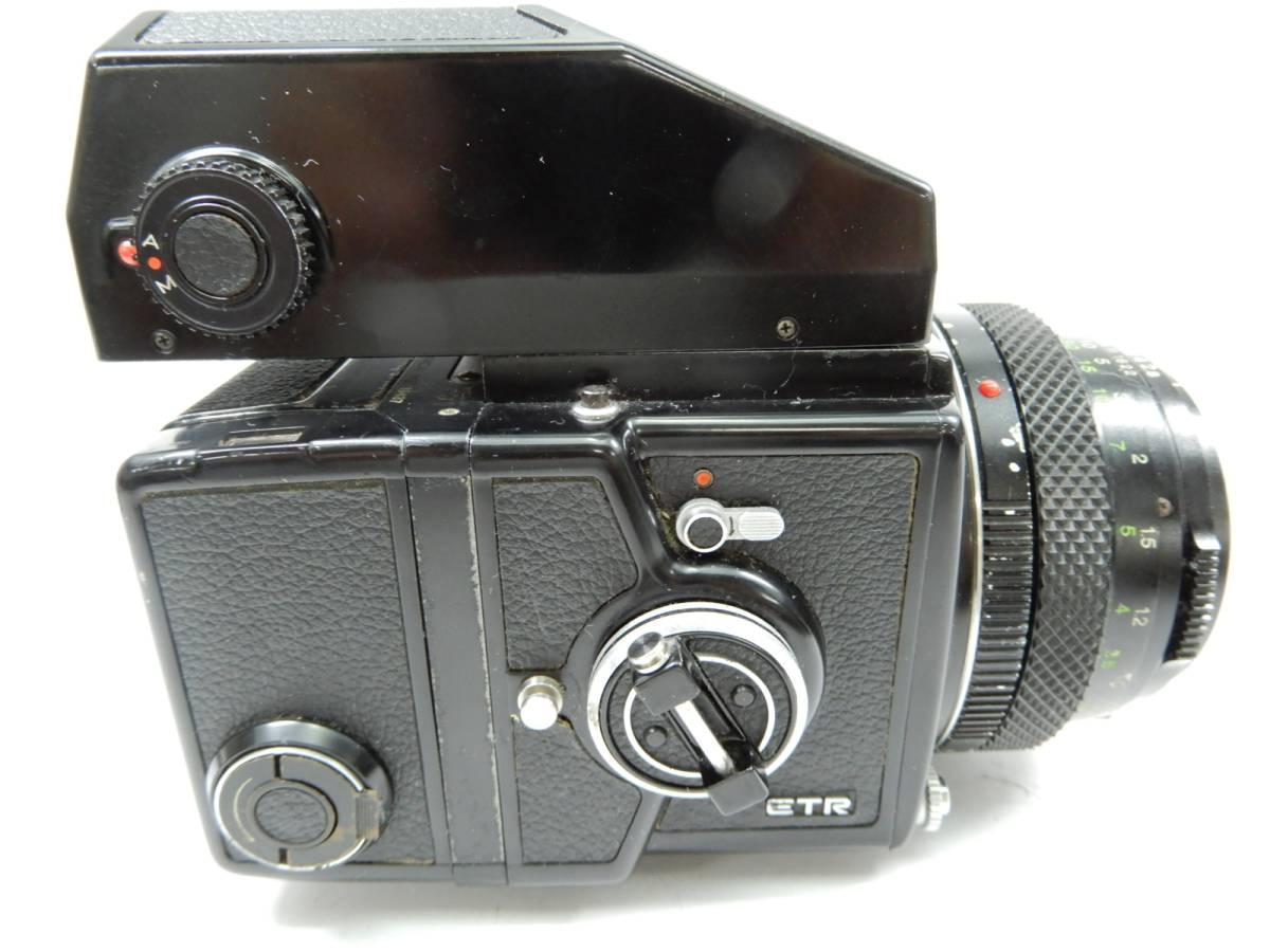 ZENZA BRONICA 中判カメラ ETR ゼンザ ブロニカ レンズ ZENZANON MC 1:2.8 f=75mm_画像5