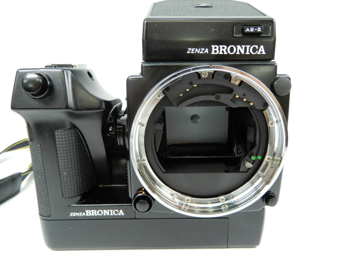 ZENZ BRONICA ETR Si 中判カメラ ゼンザ ブロニカ レンズ3点 ZENZANON-PE 1:2.8 f=75mm_画像3