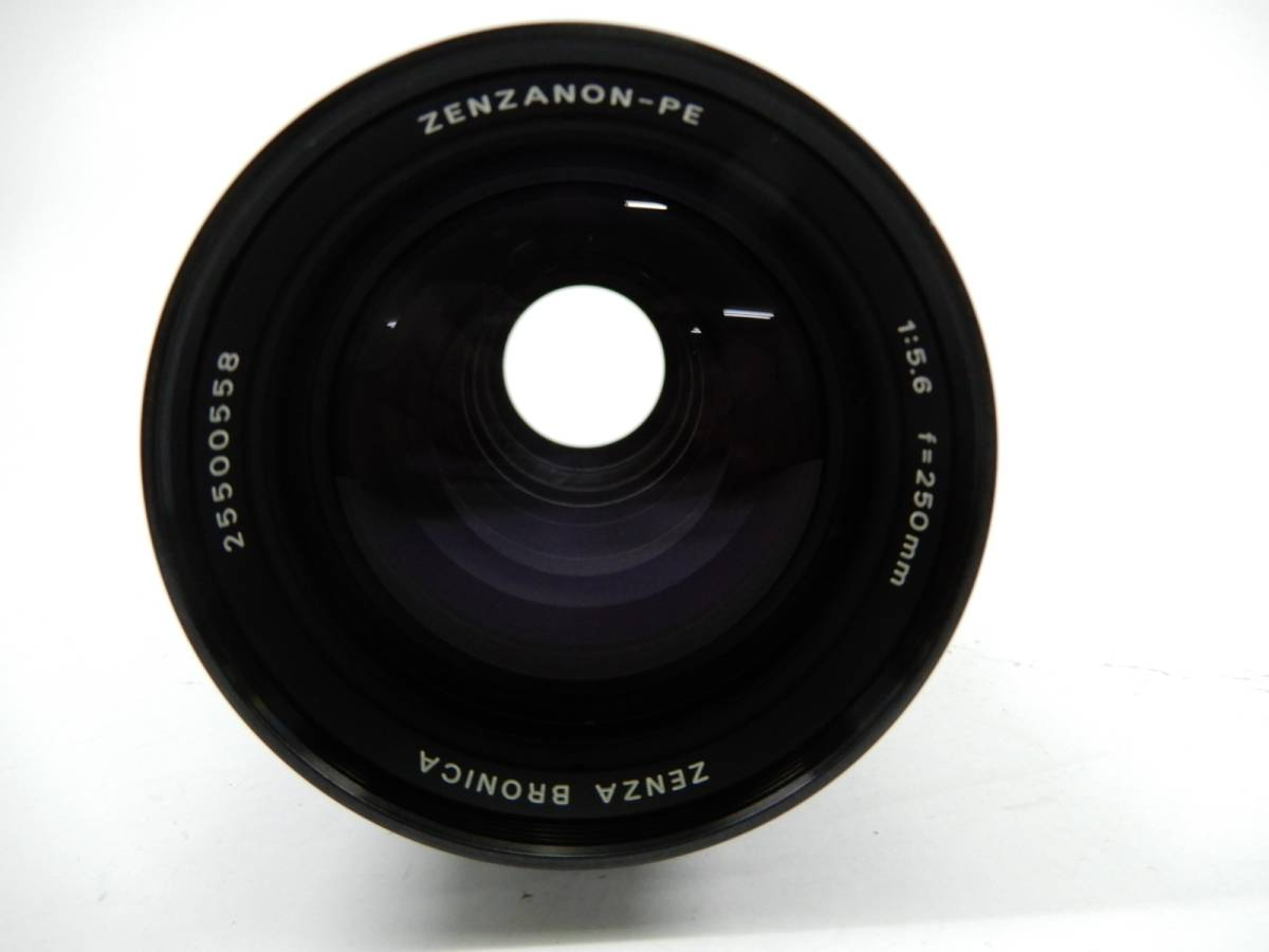 ZENZ BRONICA ETR Si 中判カメラ ゼンザ ブロニカ レンズ3点 ZENZANON-PE 1:2.8 f=75mm_画像8