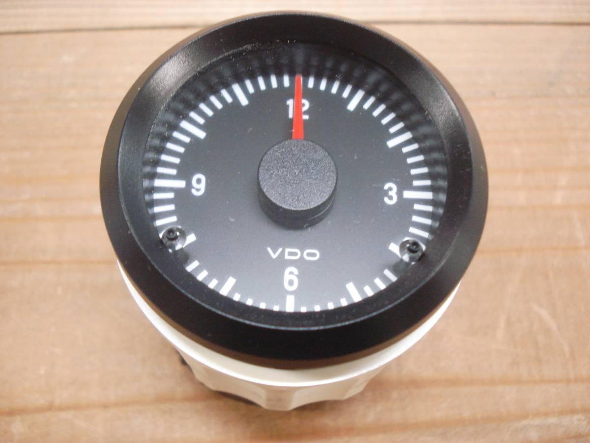 VDO 時計  52mm メーター径  12V_画像2
