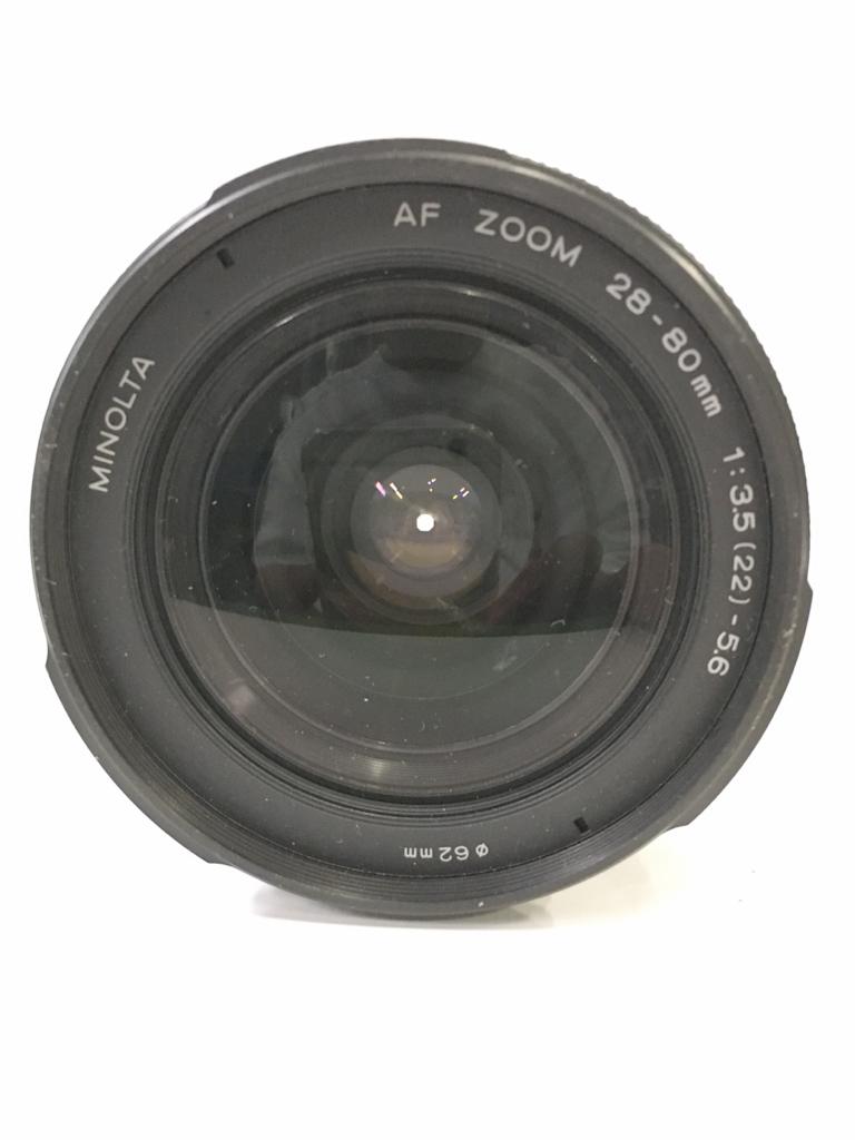 1027X☆ MINOLTA AF ZOOM 28-80mm 1:3.5(22) -5.6 φ62 ♪配送方法=ヤフネコ宅急便サイズ60cm♪_画像2