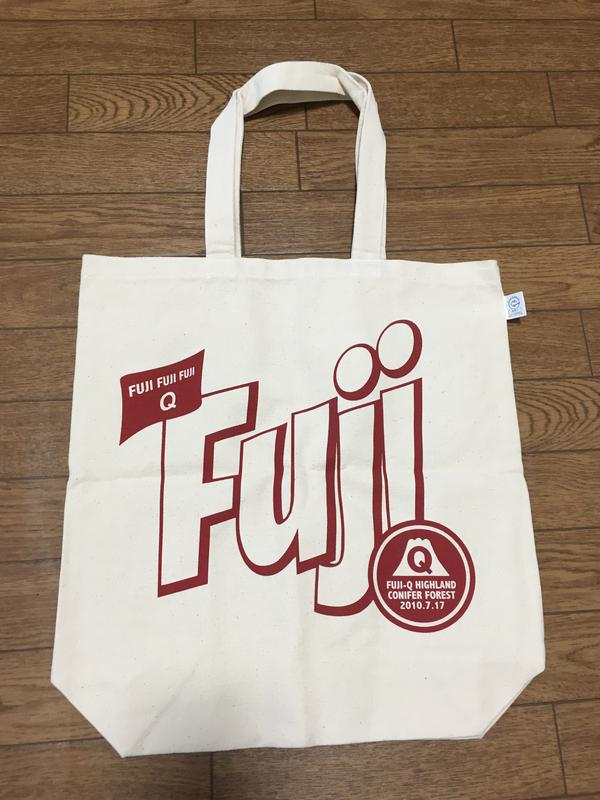 フジファブリック☆FUJI FUJI FUJI Q トートバッグ☆未使用☆美品 ライブグッズの画像