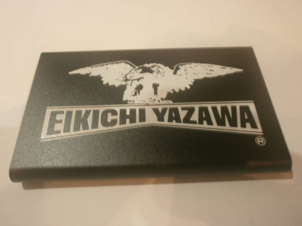 ★矢沢永吉 モバイルバッテリー(ロゴワシ)ブラック新品未使用 送料無料