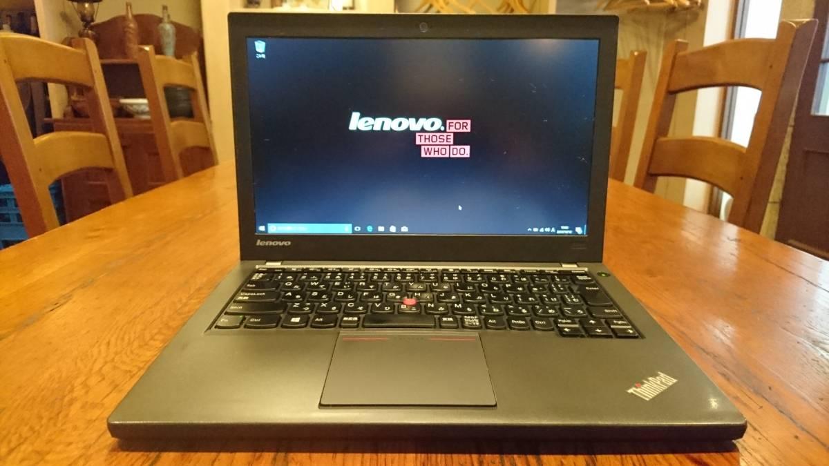 上位モデル lenovo ThinkPad X240 Core i5-4300U 8G SSD240GB office2016